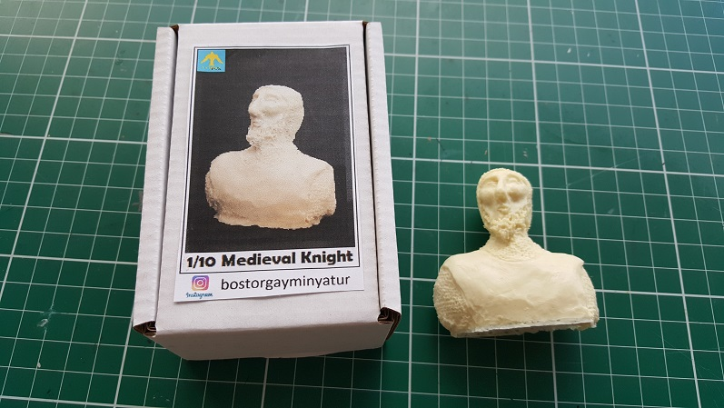 1/10 Scale Medieval Knight