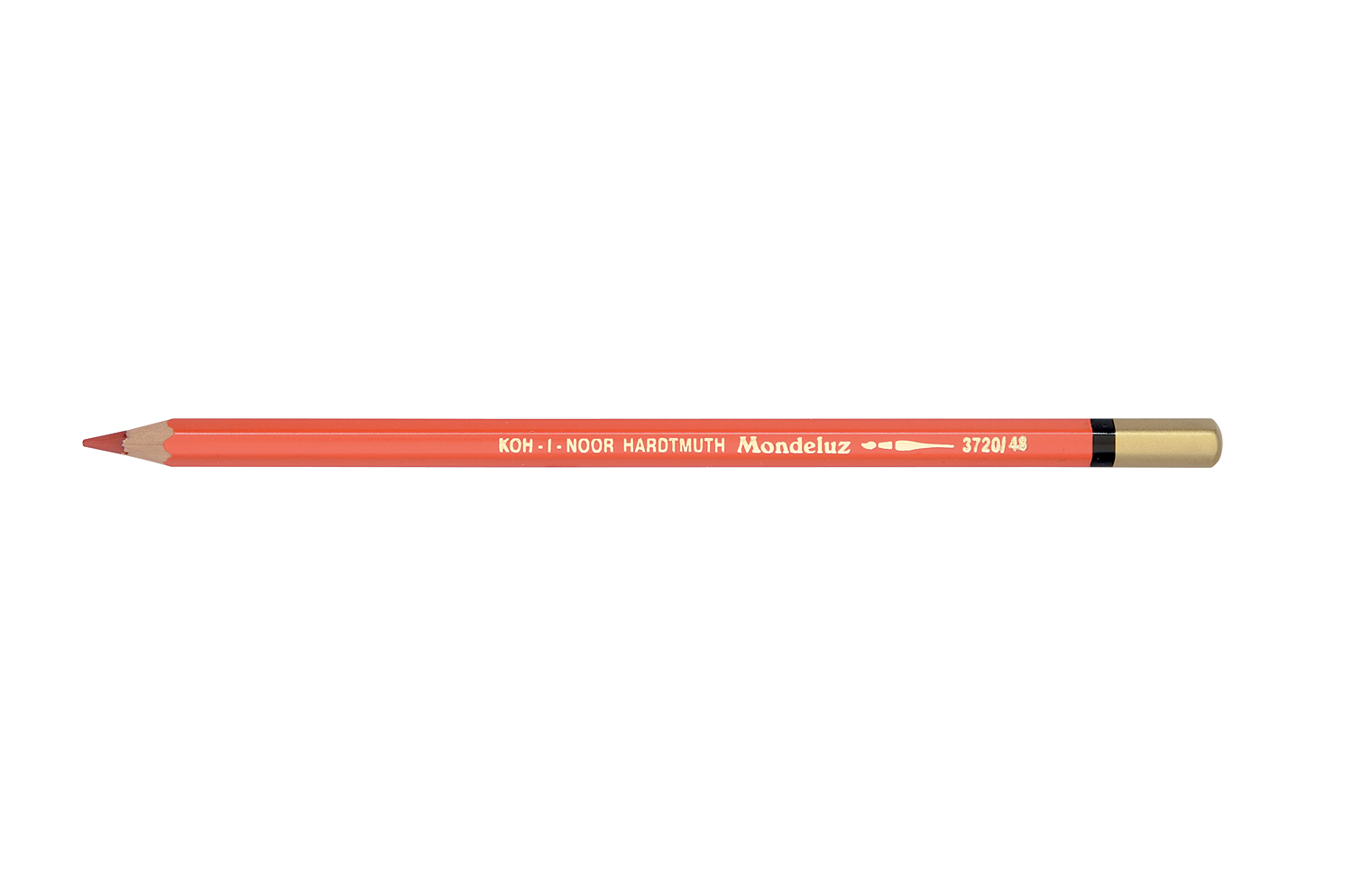 aquarell coloured pencil 3720 scarlet red dark