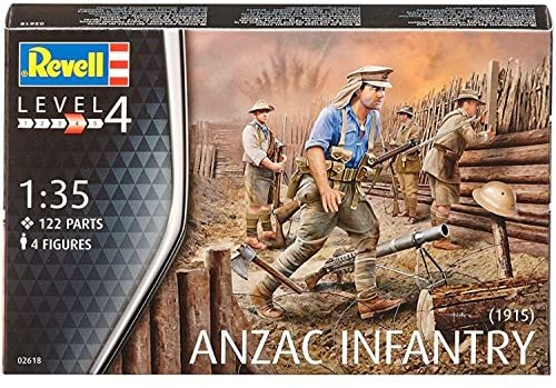 Revell - Anzac Infantry 1915 (2618)