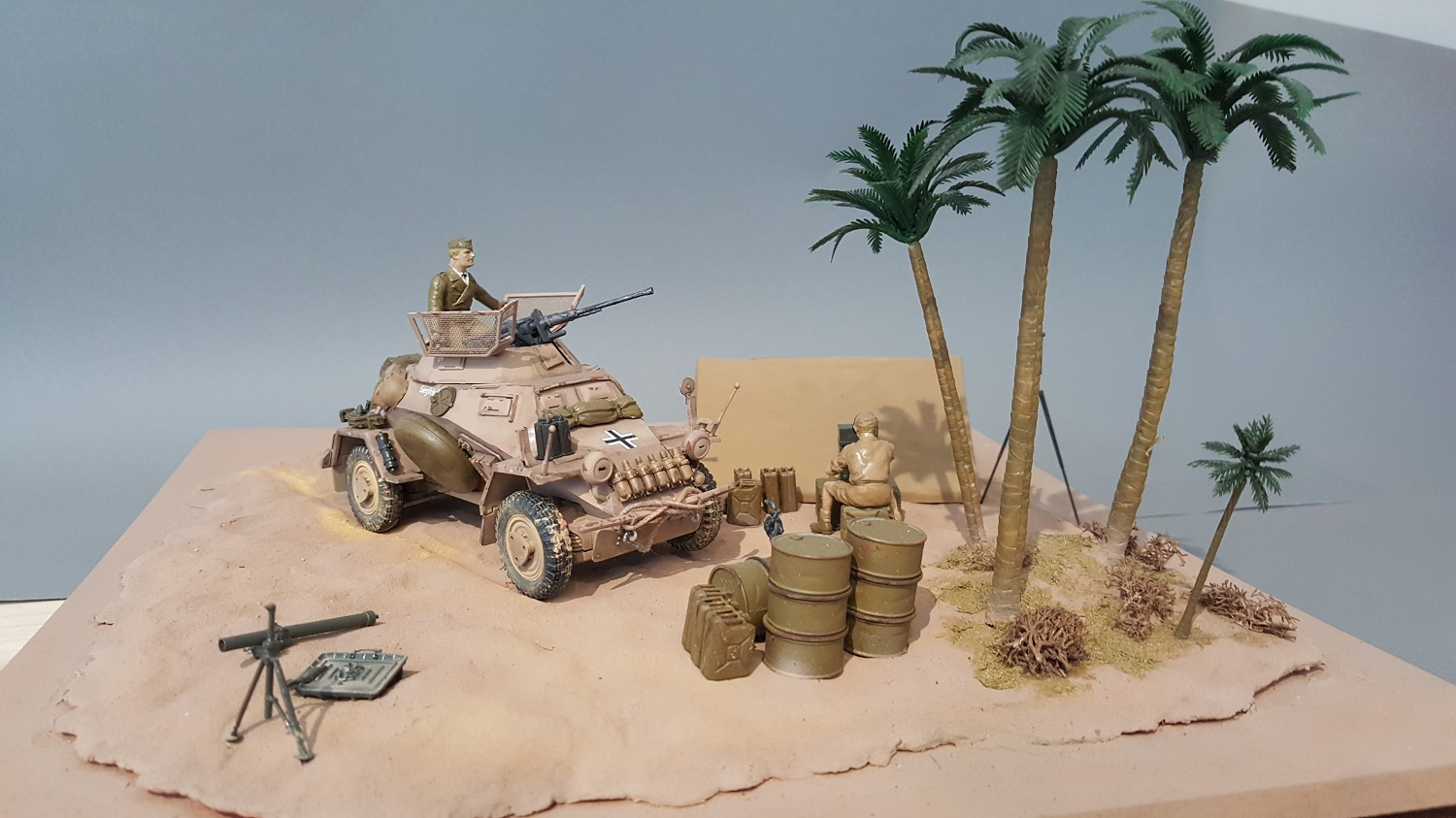 North Africa March 1941 /Sd.Kfz.222