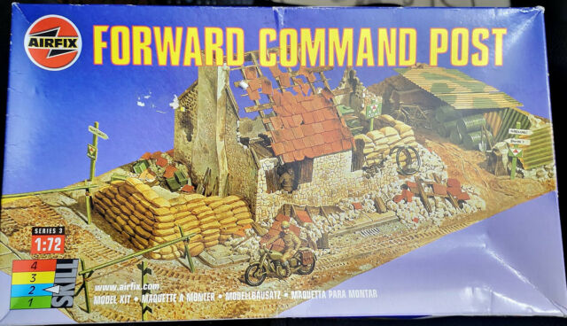 Airfix 1/72 Model Forward Command Post (Base Not Included)